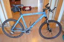 Prodám modré pánské horské kolo značky AUTHOR INSTINCT