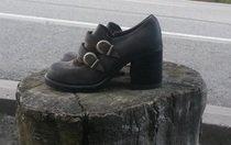 Koženkové boty
