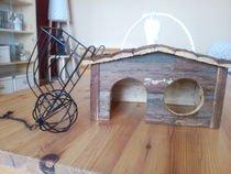 Dřevěný domeček pro morče