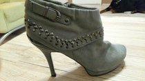 Dámské kotníkové boty, vel 38