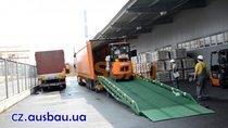 Pohyblivé ocelové rampy Ausbau pro skladu