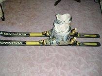 Prodám lyže Rossignol + lyžáky