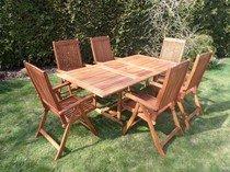 Zahradní sestava stůl a židle