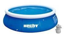 Nafukovací bazén s filtrací