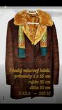 Pánský velurový kabát.