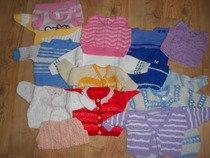 Dětské svetříčky do 1 roku