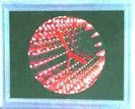 Stolní a nástěnné hodiny s tunel. efektem
