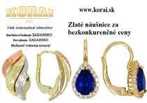 Zlaté náušnice od KORAI