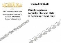 Náramky z bieleho zlata od - KORAI