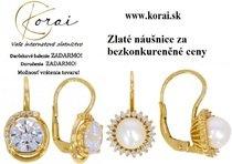Zlaté náušnice - KORAI